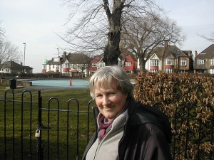 Jane Pickard at Streatham Common