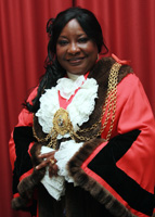 Cllr Tina Valcarcel, Mayor of Lambeth