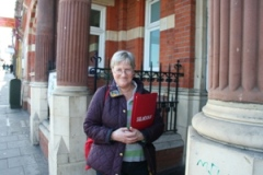 Jane Pickard at The Old Library  opposite St Luke's