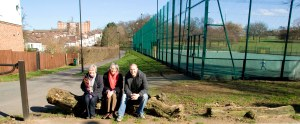 Labour Councillors in the Park