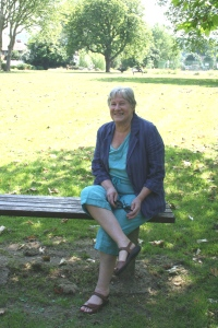 Cllr Jane Pickard in Tivoli Park
