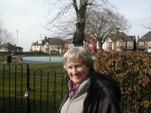 Cllr Jane Pickard at Streatham Common