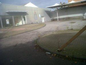 Former car showroom