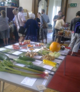 Vegetables at last year's show