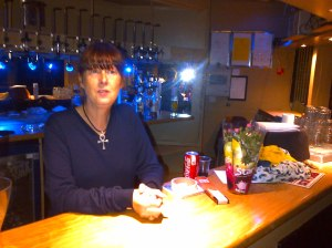 Elizabeth at the Club  last week