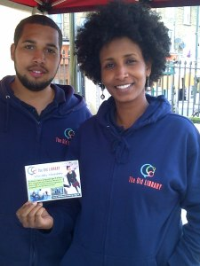 Youth workers: Jamel & Ibtisan