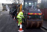 Preparing for the roadworks