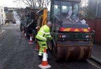 Preparing for the roadworks
