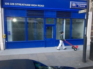 "New police shop in ""the Streatham dip"""