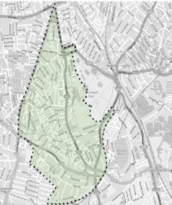 Map of Neighbourhood Plan area