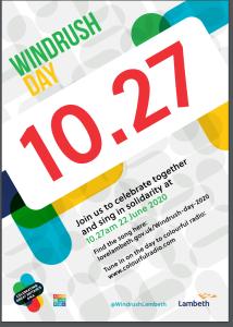 Windrush Day poster