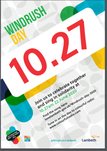 Windrush Day poster